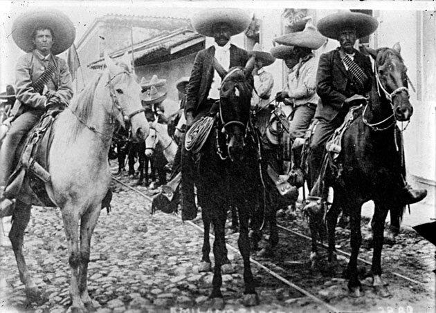 Sublevación de Emiliano Zapata