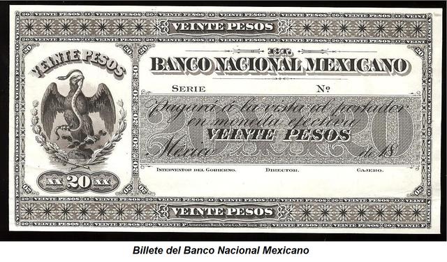 Cimientos para el Banco de México.