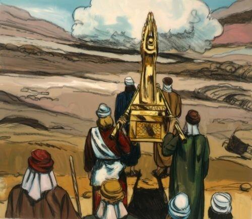 YEHOSHUA CONDUCE A LOS JUDIOS A LA TIERRA PROMETIDA