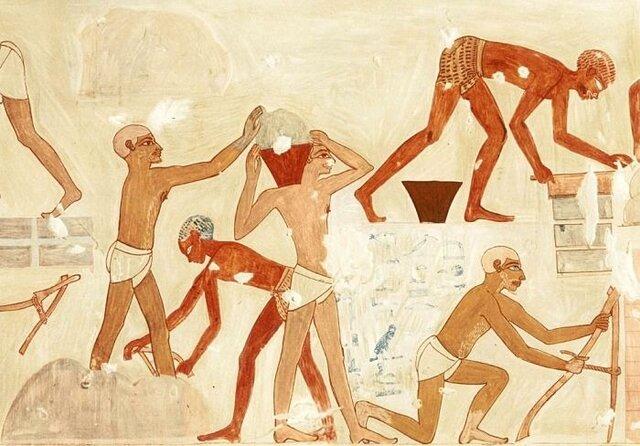 COMIENZO DE LA ESCLAVITUD EGIPCIA