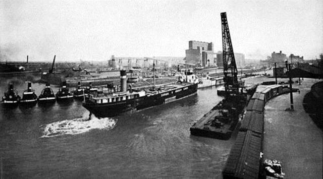 inauguration du canal de Lachine