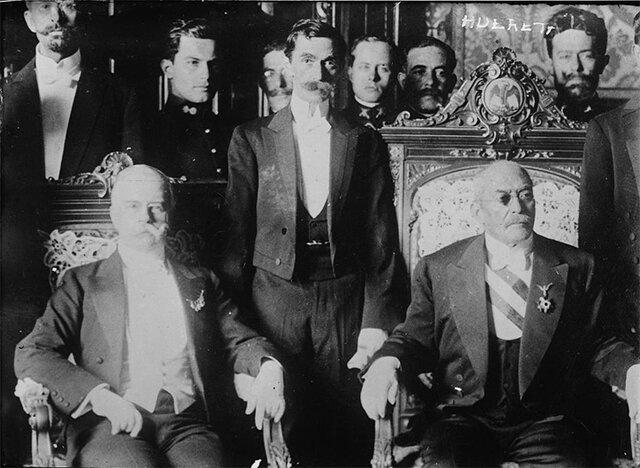 Traición por Victoriano Huerta y acenso a la presidencia