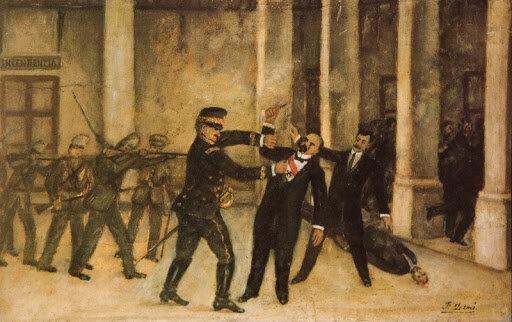 Encarcelamiento y asesinato de Francisco I. Madero