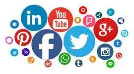 Historia de las redes sociales timeline