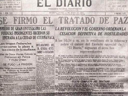 1911-Tratados de Ciudad Juárez