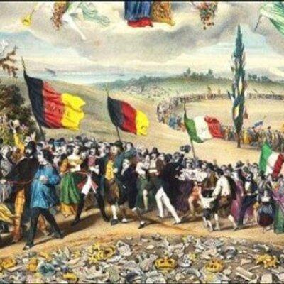 Las revoluciones liberales del s.XIX y los movimientos nacionalistas. timeline
