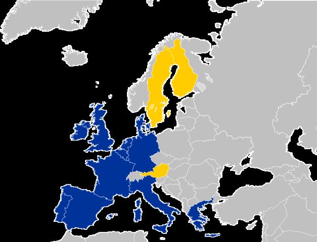 L'Unione Europea ha 15 Stati membri