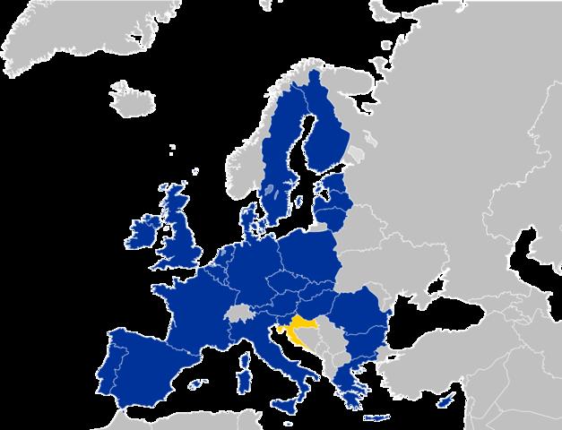 Inizia l'era dell'UE-28