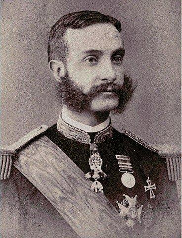 inicio de reinado de Alfonso XII