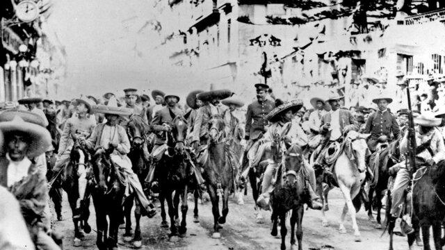 Revolución mexicana.