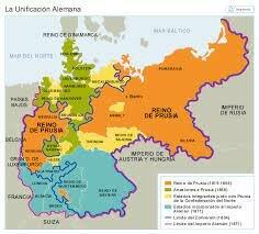 Primera fase unificación alemana.
