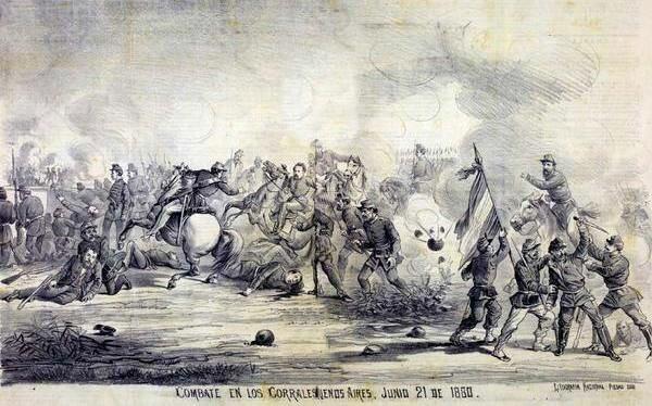 Batalla de Barracas.