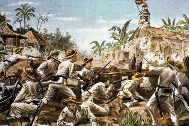 Revolución de Filipinas.