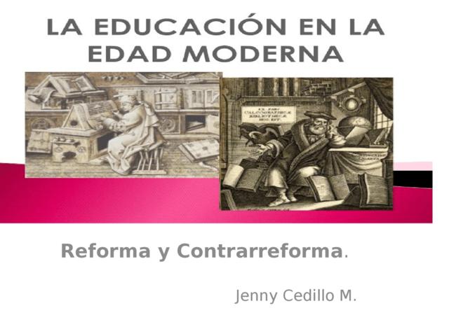LA EDUCACIÓN EN LA EDAD MODERNA (1)