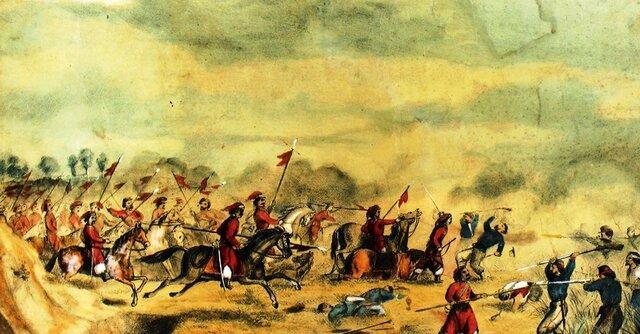La batalla de Cepeda