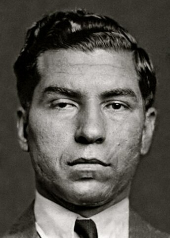 Lucky Luciano. (1897-1962).