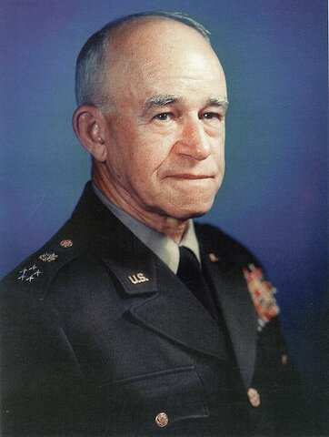 Omar Bradley. (1893-1981).