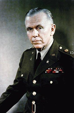 George Marshall. (1880-1959).