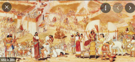 Sennacherib attacks Israel
