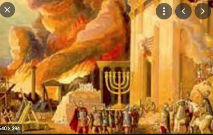 Babylonians conquer Israel and destroy the Temple