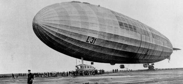 German zeppelin raids on Great Britain begin