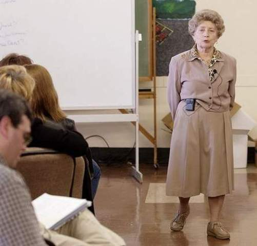 March 14, 2003 Spoke to seventy teachers from across the state at a workshop Friday at Lexington's Extended Day School