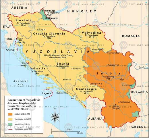 Independence of Yugoslavia