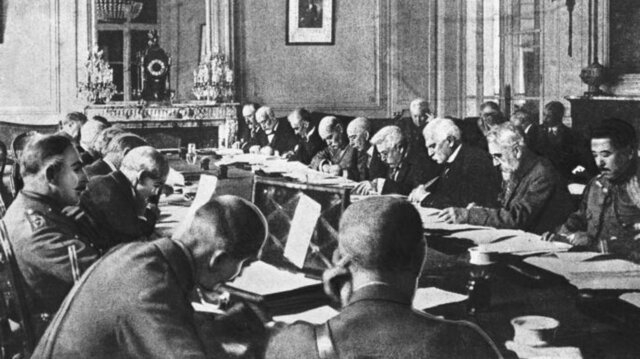 Germany signs the Treaty of Versailles