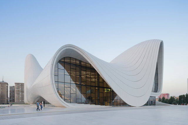 CONSTRUCCION: Heydar Aliyev Center