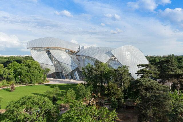 CONSTRUCCION: Fundación Louis Vuitton