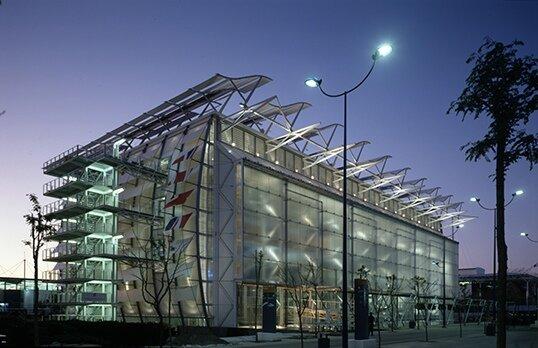 Surge la arquitectura High Tech