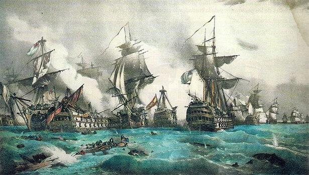 Batalla de Trafalgar (victoria de Gran Bretaña)