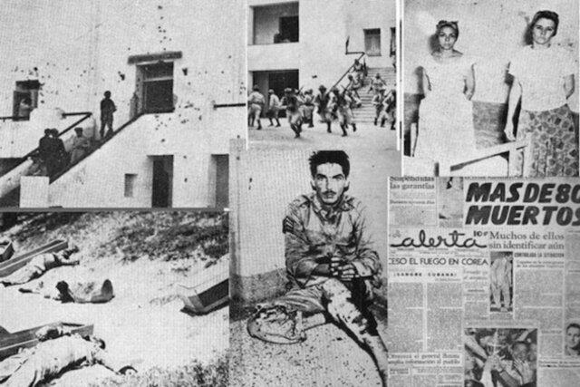 Moncada Army Barracks Attacked in Santiago de Cuba
