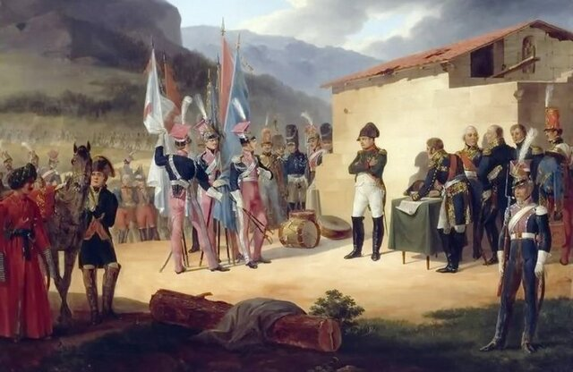Ocupación de España por tropas Napoleónicas