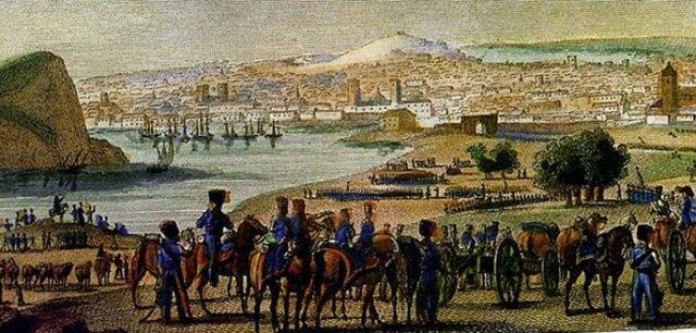 Napoleón invade el territorio Portugués