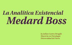 Analítica existencial (Medard Boss)