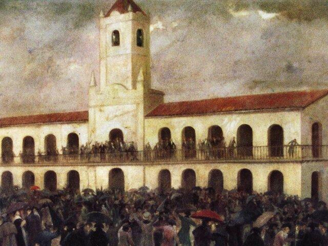 Discusión en el Cabildo abierto.