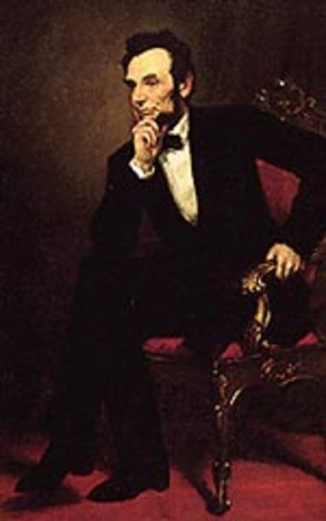 Abraham Lincoln elected the 16th President of the United States