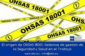 Primera Versión OHSAS 18001: 1999