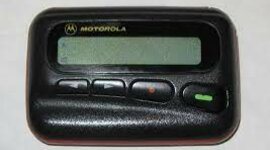 The telephone pager timeline