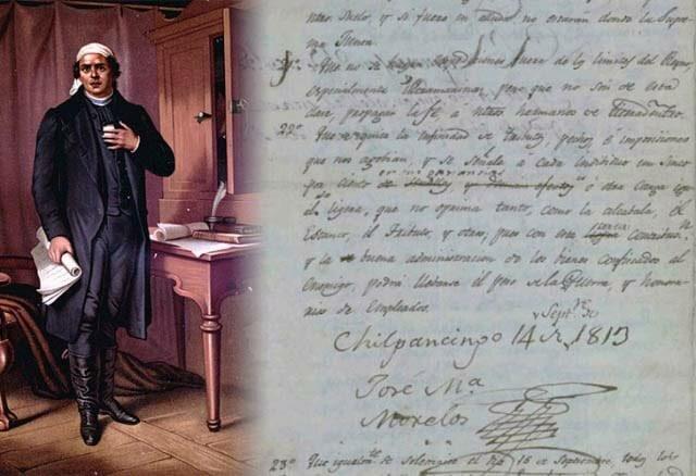 1813 Sentimientos de la Nación