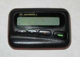 The telephone pager