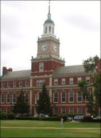 Graduation from Howard University.