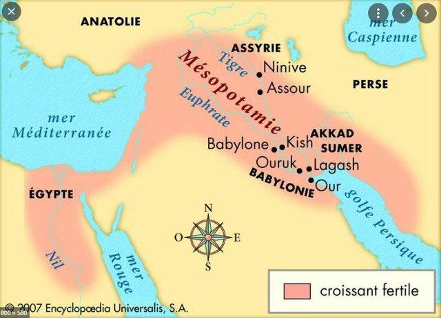 -600 Nabucodonosor règne sur la mésopotamie