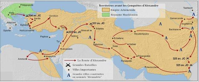 Mort d'Alexandre le grand