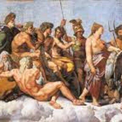 All Greek Gods  timeline