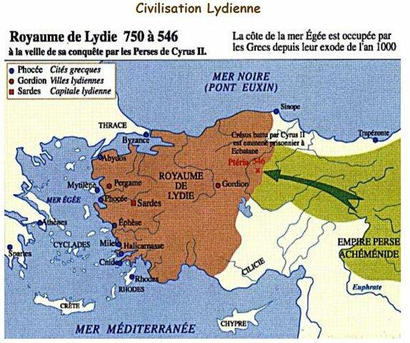 Cresus roi de Lydie