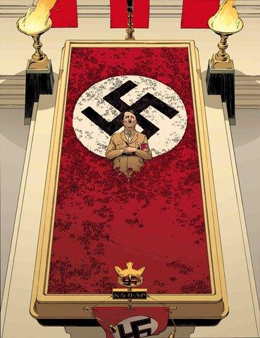 Adolfo Hitler muere.