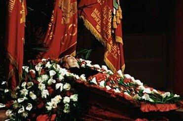 Muerte de Brezhnev