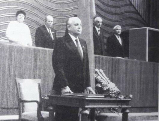 Gorbachov hacia la presidencia